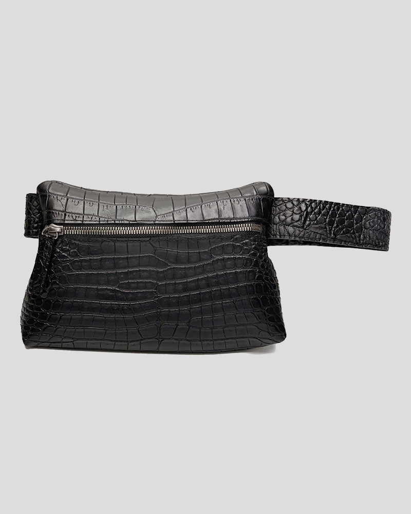"""Alligator Belly"" Waist Pack"