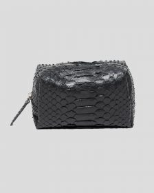 Mini Makeup Bag - Black