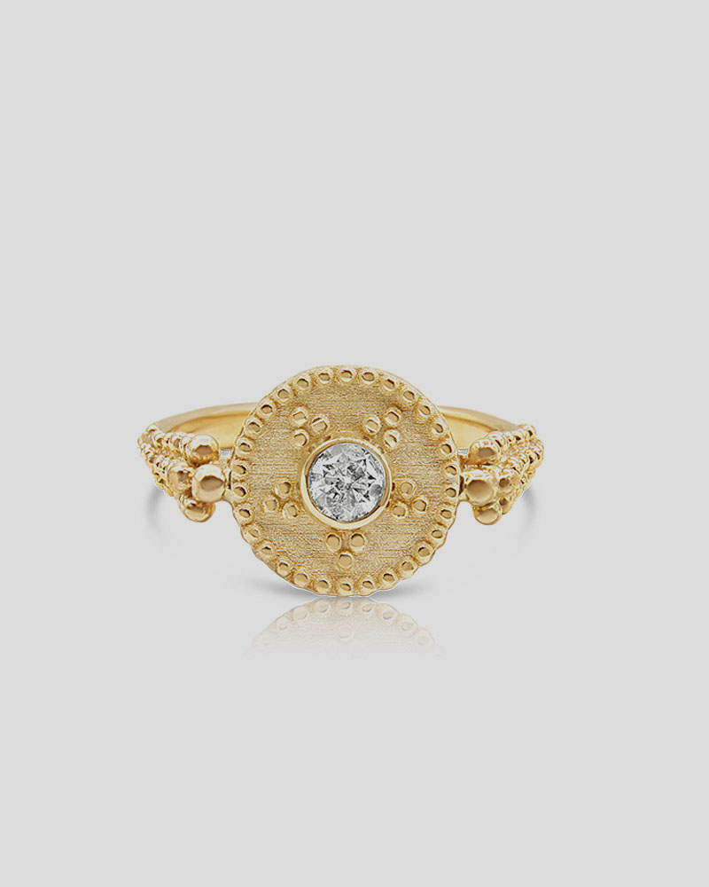 Single Disc Granulation Ring